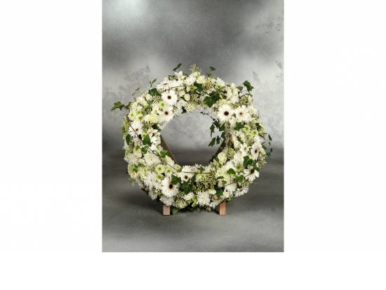 Blütenkranz weiß